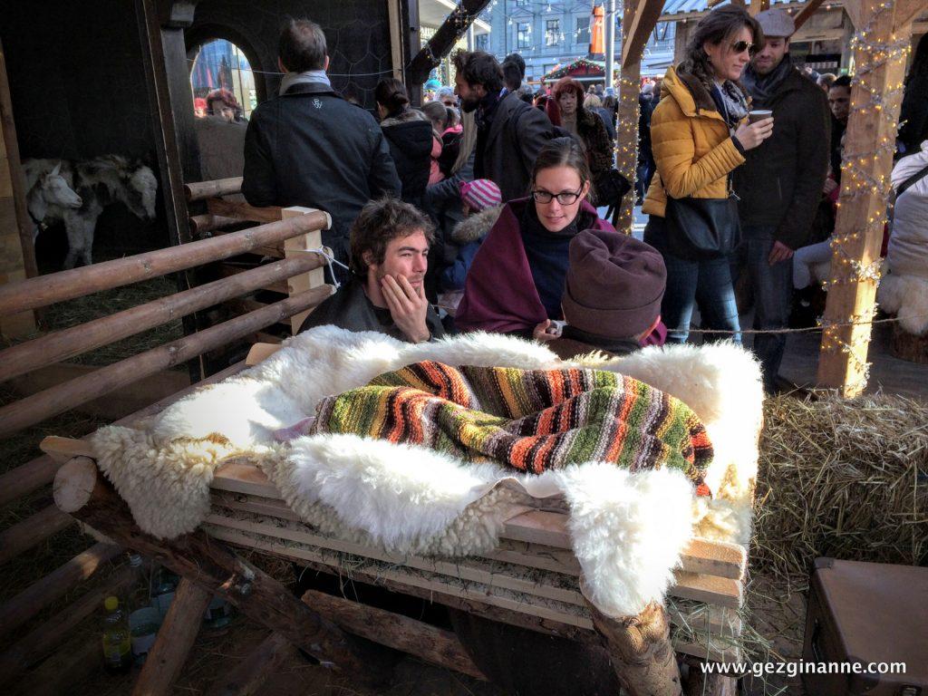 Zurich Christmas Market Jesus